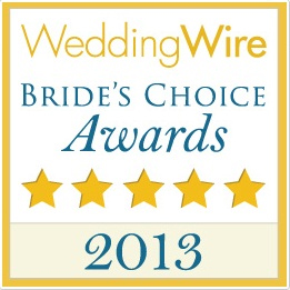2013 WeddingWire Couples' Choice Award