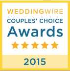 2015 WeddingWire Couples' Choice Award