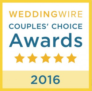2016 WeddingWire Couples' Choice Award