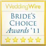 2011 WeddingWire Couples' Choice Award