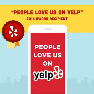 2016 Yelp People Love Us Award